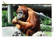 Female Orangutan-san Diego Carry-all Pouch