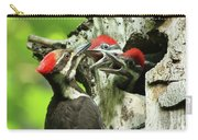 Female Pileated Woodpecker At Nest Carry-all Pouch