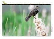 Female Red Winged Black Bird Carry-all Pouch