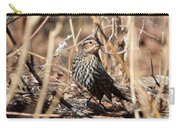 Female Red-winged Blackbird Carry-all Pouch
