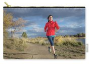Female Runner In Colorado Carry-all Pouch