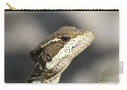 Female Striped Basilisk Carry-all Pouch