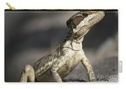 Female Striped Lizard Carry-all Pouch