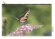 Female Tiger Butterly-1-featured In Macro-comfortable Art And Newbies Groups Carry-all Pouch