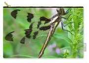 Female Twelve-spotted Skimmer Carry-all Pouch