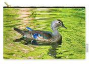 Female Wood Duck Carry-all Pouch