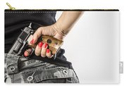 Feminin Agent Carry-all Pouch