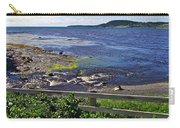 Fence Along Rocky Harbour-nl Carry-all Pouch