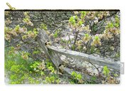 Fence And Beach Shrub Carry-all Pouch