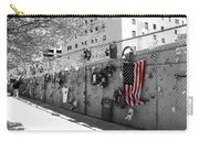 Fence At The Oklahoma City Bombing Memorial Carry-all Pouch
