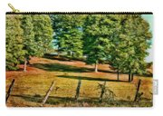 Fence - Featured In Comfortable Art Group Carry-all Pouch