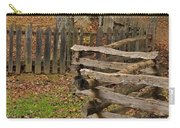 Fence In Autumn Carry-all Pouch