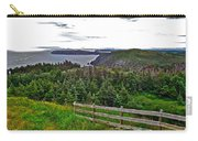 Fence In Fields At Long Point In Twillingate-nl Carry-all Pouch