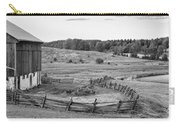 Fence Line Monochrome Carry-all Pouch