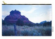 Fence Near Bell Rock Carry-all Pouch