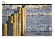 Fence Posts Into The Sea Carry-all Pouch
