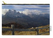 Fence With A Mountain Range Carry-all Pouch