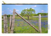 Fenced-in Beauty Carry-all Pouch by Lynn Bauer