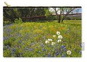 Fenceline Wildflowers Carry-all Pouch