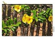 Fency Free Brazlian Flowers Carry-all Pouch