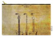 Fender Guitar Patent On Canvas Carry-all Pouch