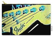 Fender Head In Watercolor Photo Carry-all Pouch
