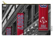 Fenway Boston Red Sox Champions Banners Carry-all Pouch