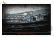 Fenway Memories - Poster 1 Carry-all Pouch