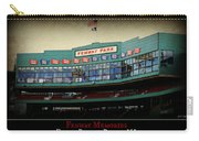 Fenway Memories - Poster 2 Carry-all Pouch