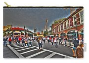 Fenway Park And Cask And Flagon Carry-all Pouch