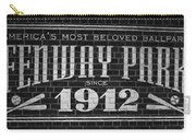 Fenway Park Boston Ma 1912 Sign Carry-all Pouch