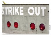 Fenway Park Strike - Out Scoreboard  Carry-all Pouch
