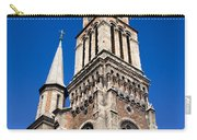 Ferencvaros Church Tower In Budapest Carry-all Pouch