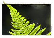 Fern Tip Carry-all Pouch