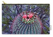 Ferocactus Wislizenii Carry-all Pouch