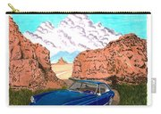 1969 Ferrari 365 G T C In The Mountains 1969 365 G T C Carry-all Pouch