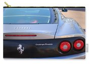 Ferrari Rear Emblem - Taillights -0089c Carry-all Pouch
