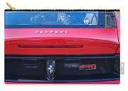 Ferrari Scuderia 430 Rear Emblems Carry-all Pouch