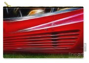 Ferrari Testarossa Red Carry-all Pouch