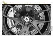 Ferrari Wheel Emblem - Brake Emblem -0430bw Carry-all Pouch