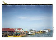 Ferries At Koh Rong Island Pier In Cambodiaferries At Koh Rong I Carry-all Pouch