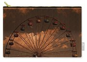 Ferris Wheel At Twilight Carry-all Pouch