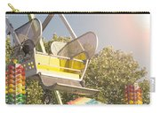Ferris Wheel Bucket Carry-all Pouch by Cindy Garber Iverson