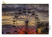 Ferris Wheel Sunset Carry-all Pouch