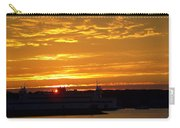 Ferry At Sunset Carry-all Pouch