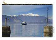 Ferry Boat On An Alpine Lake Carry-all Pouch