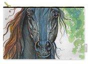 Ferryt Polish Black Arabian Horse Carry-all Pouch