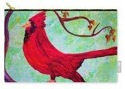 Festive Cardinal Carry-all Pouch