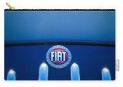 Fiat 750 Mm Zagato Panoramica Coupe Grille Emblem Carry-all Pouch