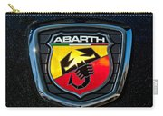 Fiat Abarth Emblem Carry-all Pouch